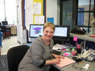 Theresa Giglio was, for many, the face of Grant-White School. We'll miss her. (File photo)