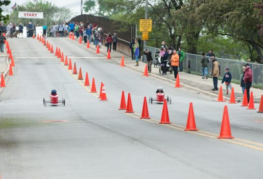 A view of the Circle Avenue race course. | William Camargo/Staff Photographer