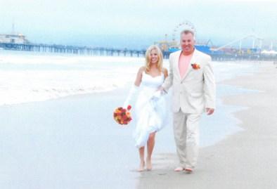 Joe and Michele Breseman at Santa Monica Pier.   JACKIE SCHULZ/Contributor