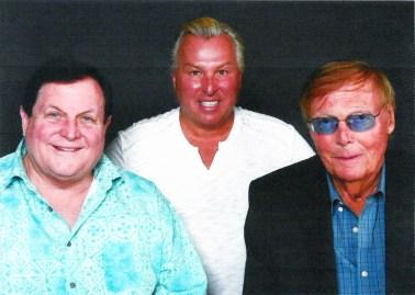 Joe with Bert Ward (far left) and Adam West.   JACKIE SCHULZ/Contributor