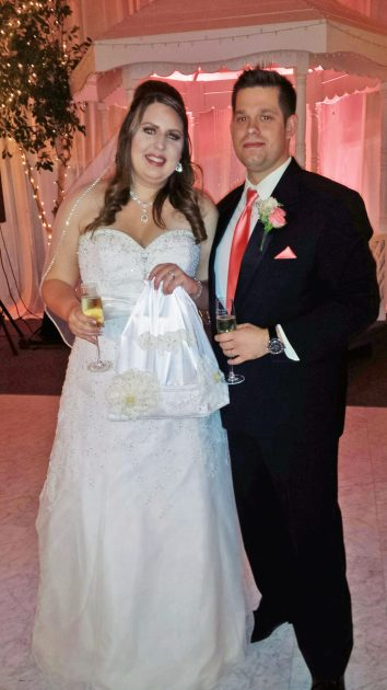 Danielle Riske and Michael Leonard. | Courtesy Sandy Byrnes