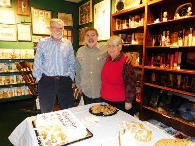John Klein with Augie and Tracy Aleksy. | JACKIE SCHULZ/Contributor