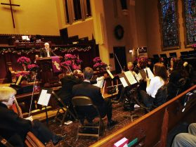 The MacDowell Artists' Sing-Along Messiah is a must-hear. | JACKIE SCHULZ/Contributor