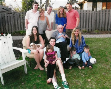 The family of Jack Becker (center) last summer. | JACKIE SCHULZ/Contributor