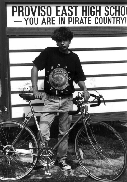 Back in the early '90s, Manny earned a bike through a Proviso East reward program. | File photo