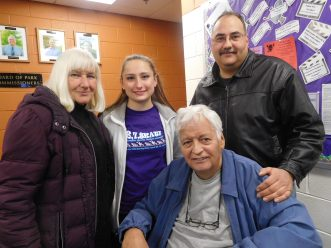 Lydia, Angelina, Don, and Ed Giuliano (seated).   JACKIE SCHULZ/Contributor