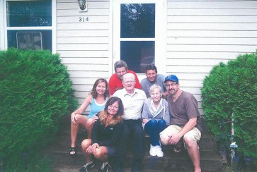 The Nutley family came together for the first time in 25 years at their summer home in Wisconsin. | JACKIE SCHULZ/Contributor