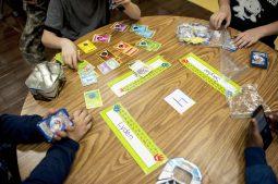 A game of Pok?mon in progress. | William Camargo/Staff Photographer