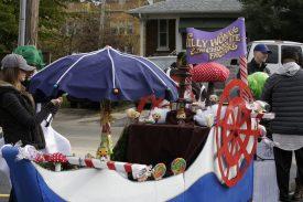 Riveredge Hospital designed a Willy Wonka themed casket. | Joseph Chomiczewski/Staff