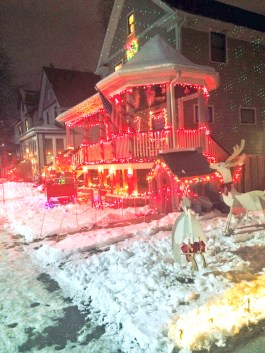The Nero family home on Circle Avenue won the park district's Holiday Home Makeover Contest.   Courtesy Park District of Forest Park