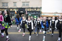 Irish dancers perform during the annual St. Patrick's Parade on Saturday, March 5.   File photo