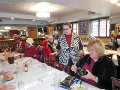 Denise Murray and other patrons enjoy their meal at Pearl's Place. | JACKIE SCHULZ/Contributor