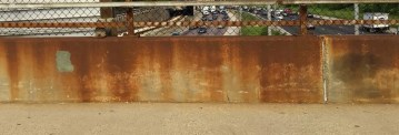 A photo of the panels with rust. | Courtesy Sally Cody
