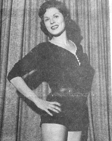 Blanche Kos during the Miss Photo Flash Contest in 1957. | Courtesy Forest Park Historical Society