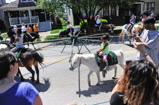 The All School Picnic included pony rides among myriad activities available to students last Thursday. | William Camargo/Staff Photographer