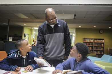 Bob Liddell treated students with respect and they returned it. | William Camargo/Staff Photographer