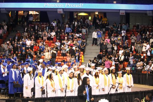 Proviso East High School Class of 2017. | Courtesy District 209