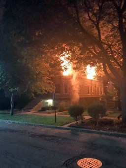 A GoFund Me page has been set up to aid tenants displaced by the Oct. 14 fire on Marengo. | Courtesy Eric Jensen