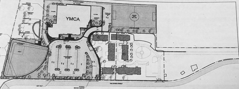 YMCA's proposal to purchase the Altenheim property. | Courtesy Forest Park Historical Society