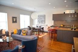 Mark Zinni's top floor, fully renovated condo unit. | Alexa Rogals/Staff Photographer