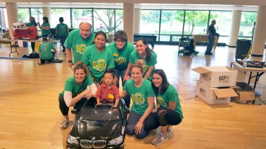 Fundraiser outfits children with spina bifida with cars.   Submitted photo