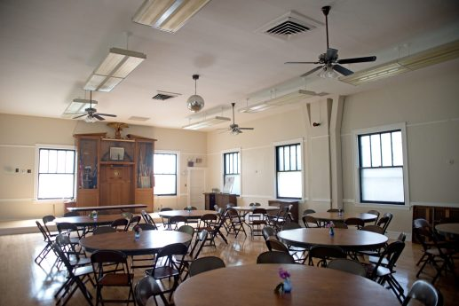 The hall is seen at the American Legion Post 414 in Forest Park. | Alexa Rogals/Staff Photographer