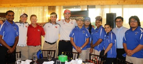 Members of the Proviso East and Hinsdale Central golf teams on June 2. | Courtesy D209