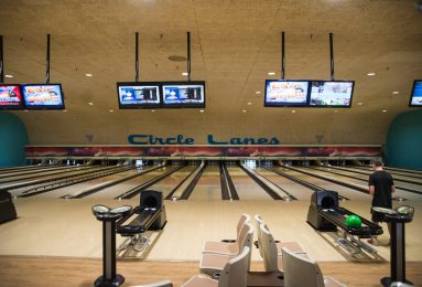 Longtime owner Bonnie Stutz's memory lives on in the renovations at Circle Lanes. | Alexa Rogals/Staff Photographer