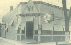 This circa 1906 photo of the Boulevard Buffet is from the Village of Harlem. Later it would be known as Otto's Restaurant, after the owner's first name.