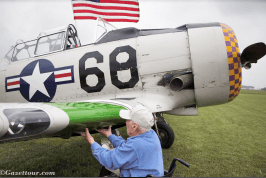 Vintage planes at the Gathering of Warbirds. | Submitted photo