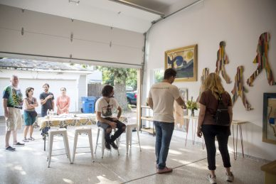 Garage Galleries Call for Artists