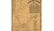 This map shows the travels of the 89th Infantry from Illinois serving in the Civil War. In company K there were four local boys serving from Harlem.