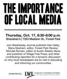 Journalists discuss local media