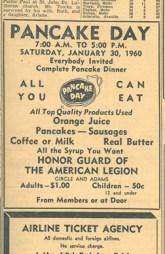 Pancake breakfasts are still a great community fundraiser.