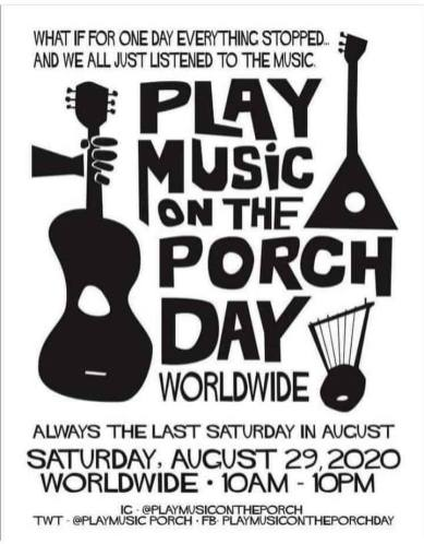 Don't miss a porch concert in Forest Park on Aug. 29.