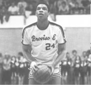 Pirate basketball in 1980 was proud to feature the talented Glenn Rivers, shown here at the line.