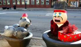 Check out the decorated planters along Madison Street, including this one from the Forest Park Review. | Photo provided