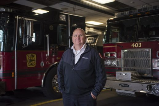 This year, Fire Chief Bob McDermott retired after 32 years serving the village of Forest Park. | File photo
