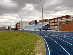 The current Proviso East football field is scheduled to be demolished early next year. It will be reconstructed. | File photo