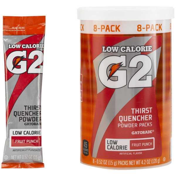 Gatorade G2 Powder Packs. Forestry Suppliers