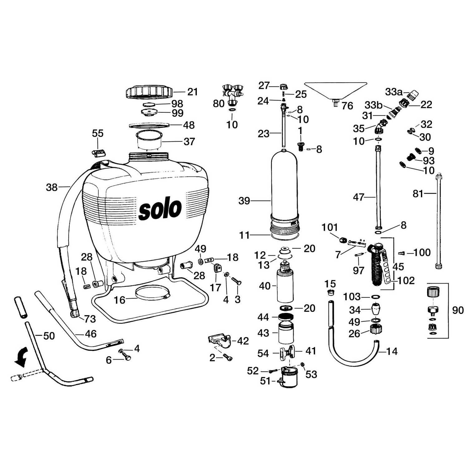 Replacement Parts For Solo Model