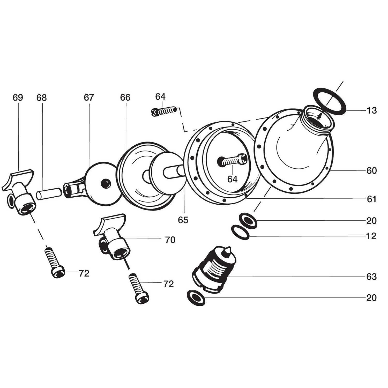 Diaphragm Parts For Solo Model