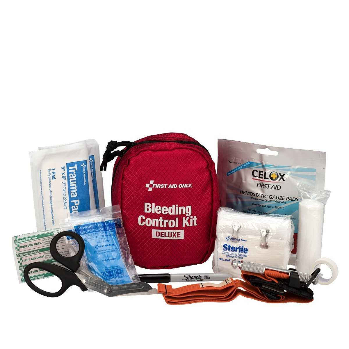 First Aid Only Deluxe Bleeding Control Kit
