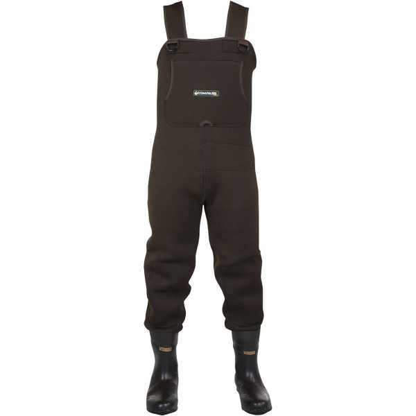 Compass 360 Rogue 3.5mm Neoprene Cleated Sole Chest Waders Size 8