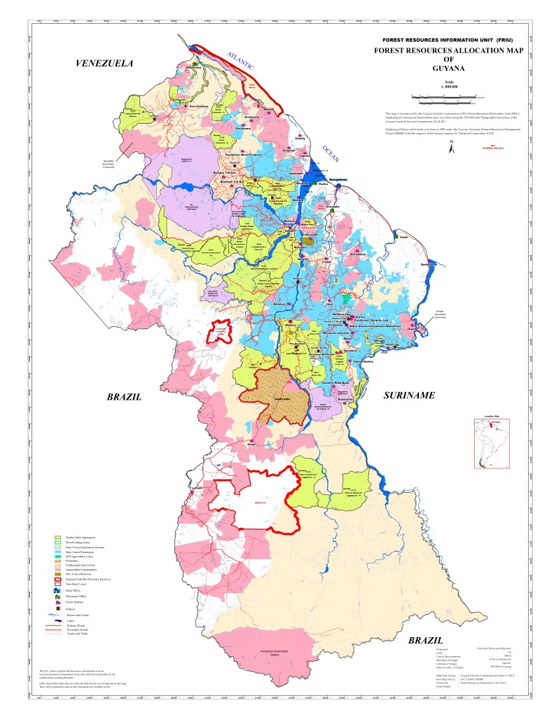 Forest Allocation Map_2017-A0 (former)