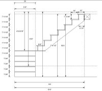 Stairs design help in Timber Framing/Log construction