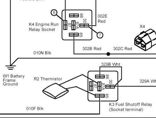 john deere solenoid wiring diagram skin worksheet 4300 fuel trouble in general board this r2 thermister and relay apparently allow an initial high current to flow then cuts the after opens