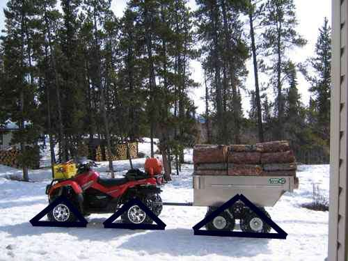 Log Sled Plans