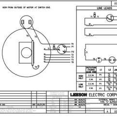 Electric Motor Wiring Diagrams Single Phase 1994 Chevy 1500 Diagram Leeson Motors Great Installation Of Doerr Compressor Lr22132 Third Rh 14 9 20 Jacobwinterstein Com 115 230
