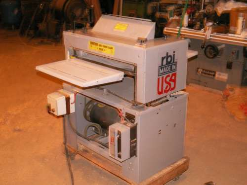 Rbi Planer For Sale